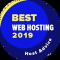 Toegekend aan bedrijven in top 10 voor de beste web hosting categorie.